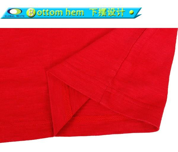 Global Weiye standard mens casual t shirts cotton in shenzhen