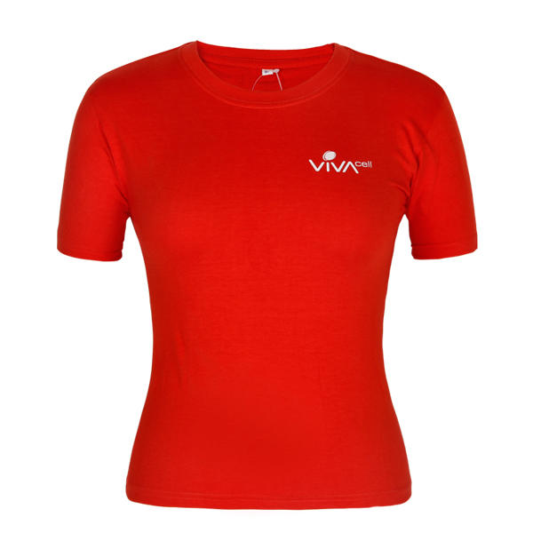 red t shirt custom for women