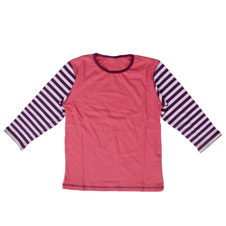 long sleeve cotton/spandex cute children's clothes