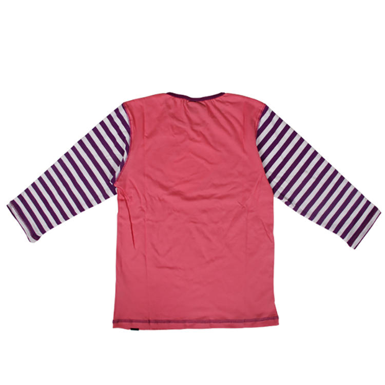 long sleeve cotton/spandex cute children's clothes
