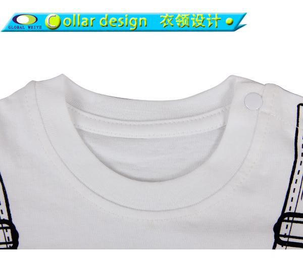 Global Weiye kids t shirt short sleeves for girls-4