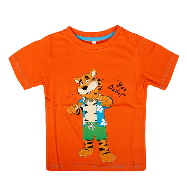 Orange tees trendy toddler boy clothes