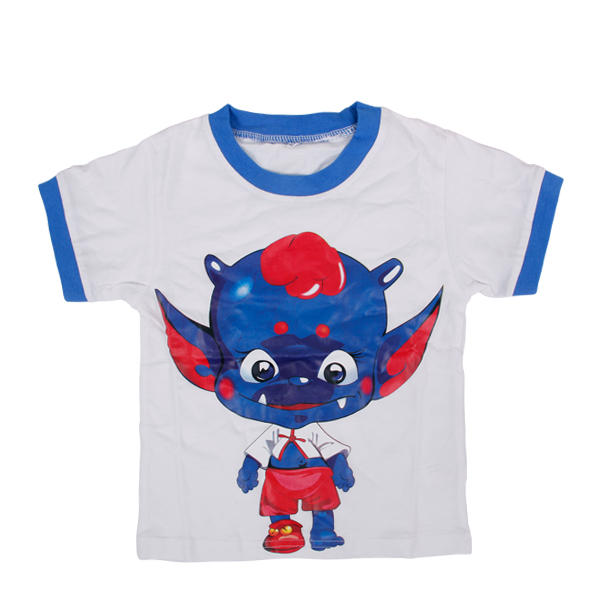 White tees for children dress boys