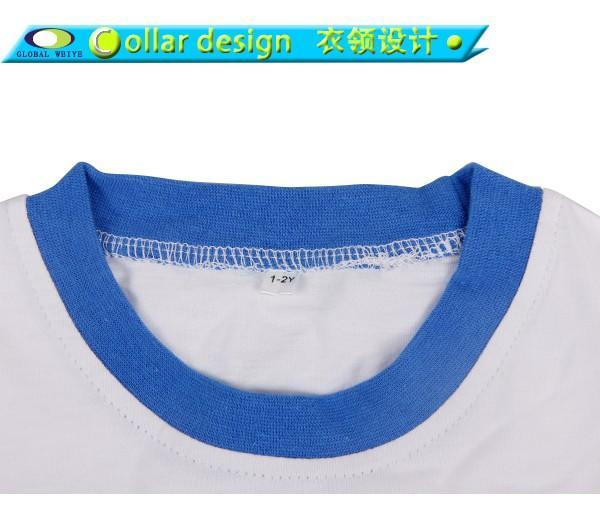 designed kids shirts long round for girls