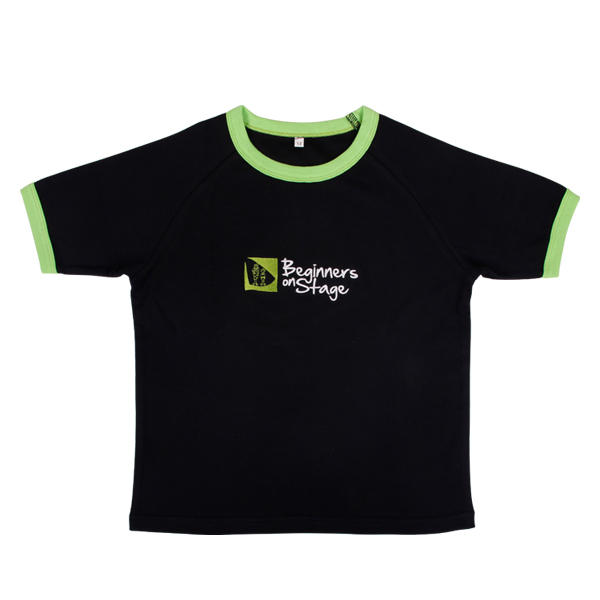 fashion design Boys clothes in tshirt style with contrast