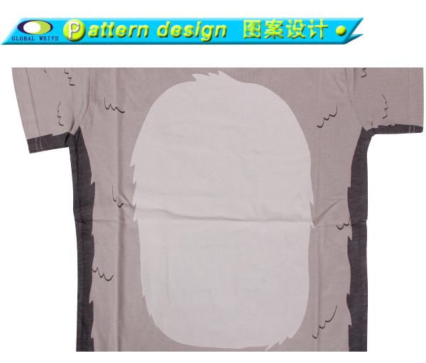 Global Weiye design kids t shirt contrast for girls-7