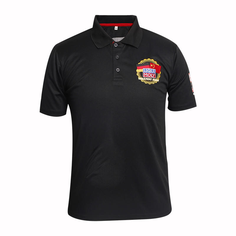 custom polo polo shirts in China factory