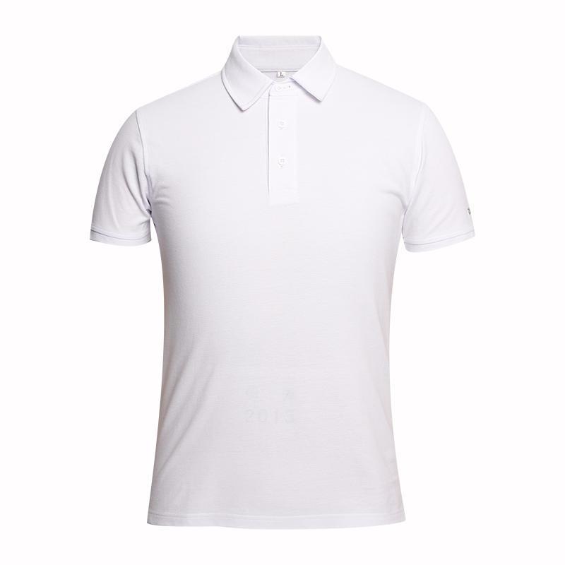 china White polo shirt design