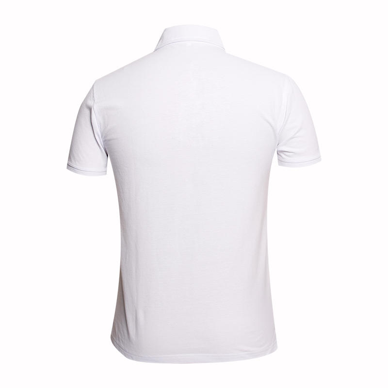 china White polo shirt design