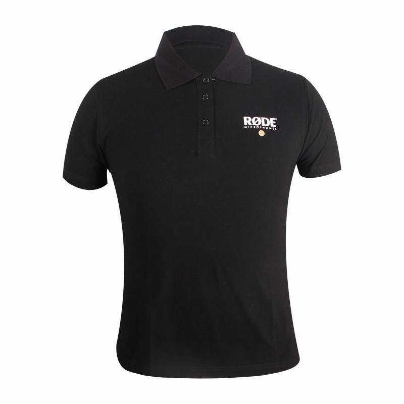 black polo shirt custom in china