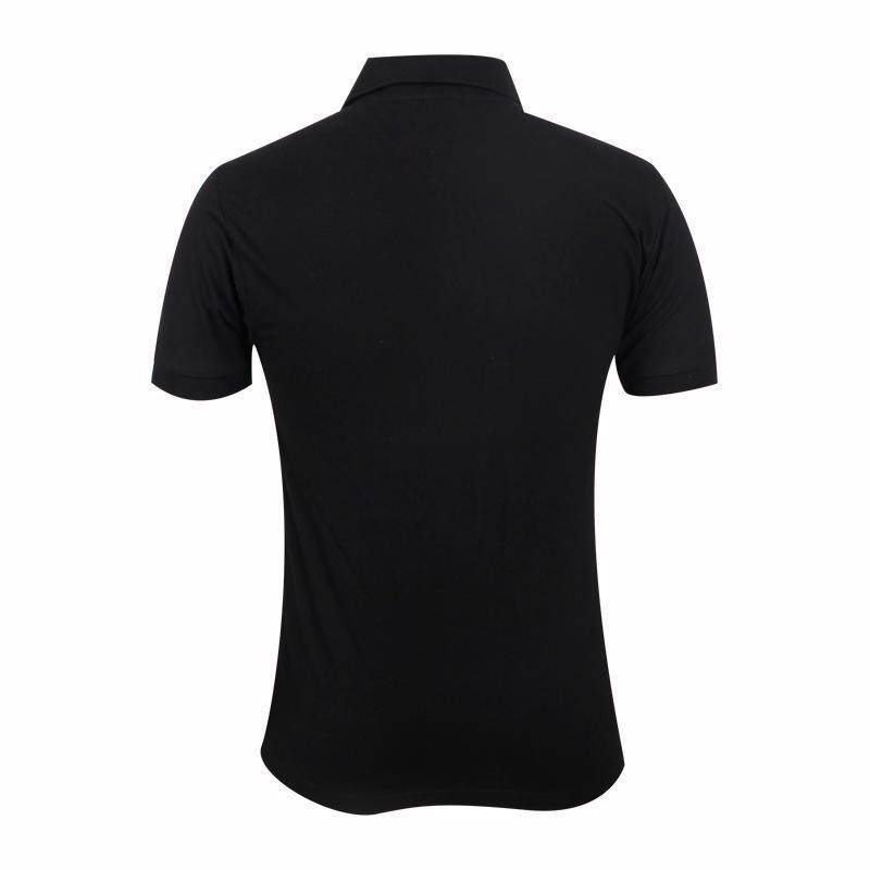 black polo shirt mens OEM