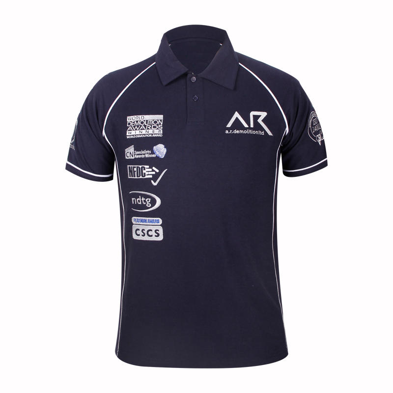 Navy  polo shirts for men in china