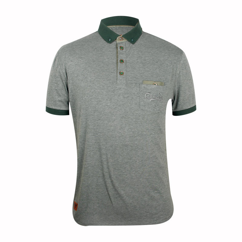Custom polo shirts with pockets