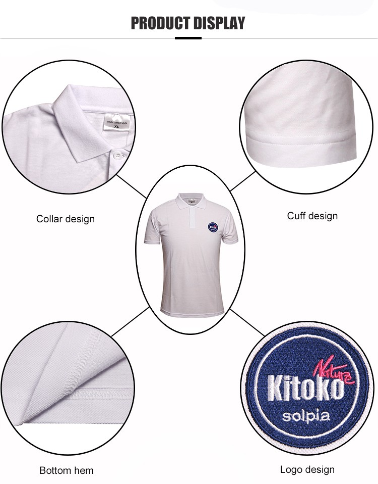 Teesso blank best polo shirts sleeves for men-4