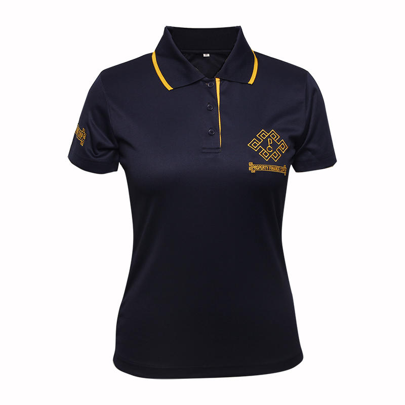 polo t shirt womens custom 100% polyester