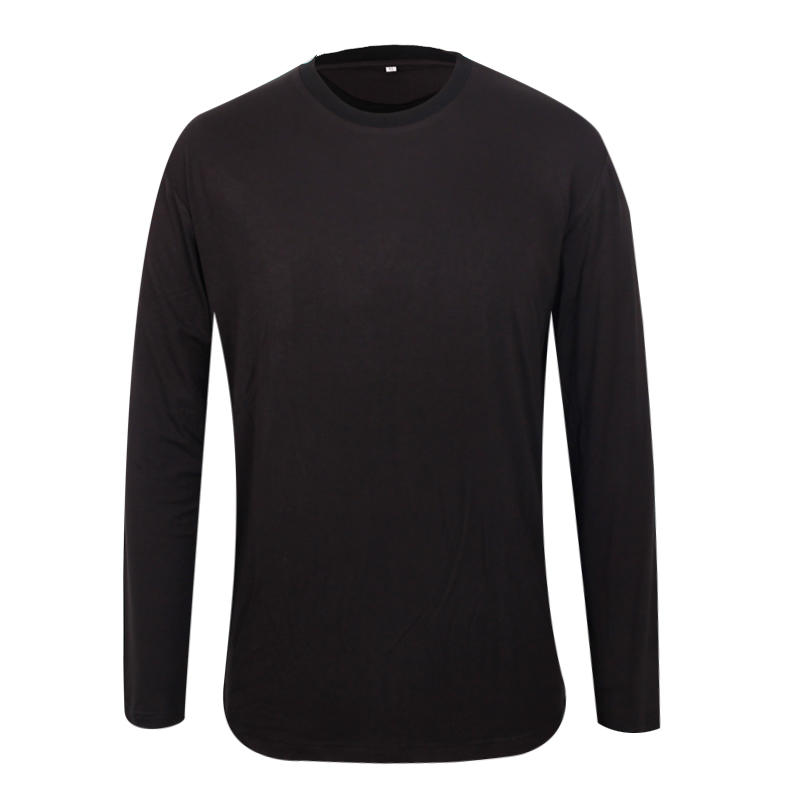 long sleeve t shirts wholesale plain blank