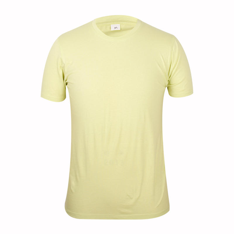 light yellow blank t shirts