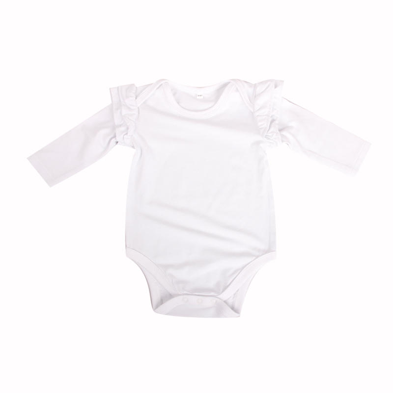 baby girl clothes long sleeve blank