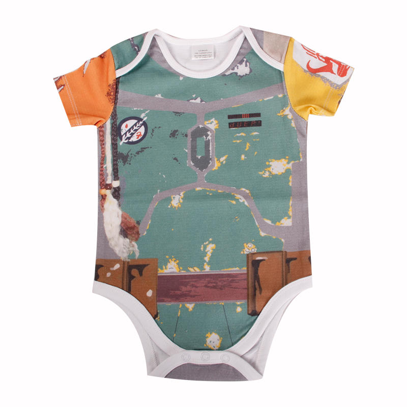 High quality baby onesuit with 100% combed cotton