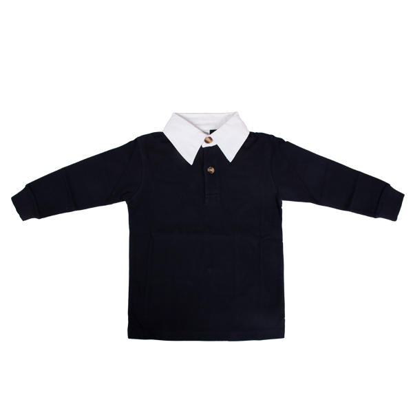 cheap blank long sleeve Children polo shirt