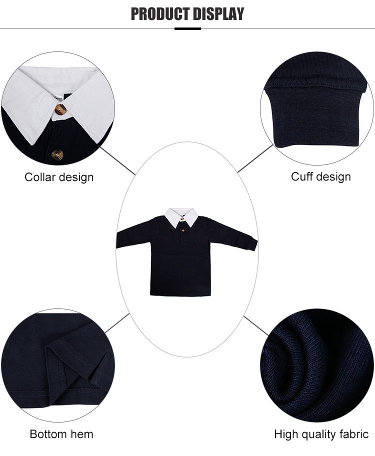 Teesso short boys polo shirts manufacturer for sale-4