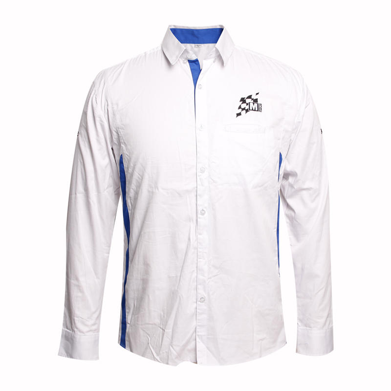 office shirt high quality long sleeve custom