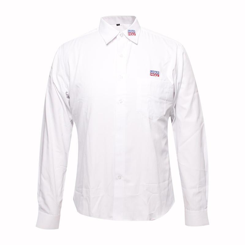 formal shirts long sleeve embroidery logo custom