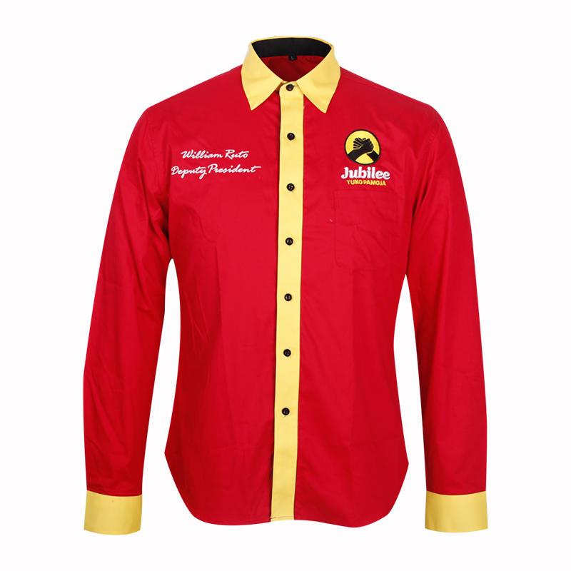 politics shirt mens long sleeve 100 cotton
