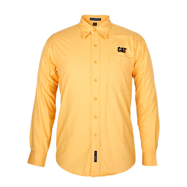 yellow shirt for men long sleeve