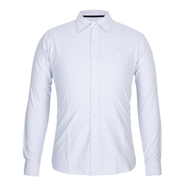 100% cotton fabric vertical striped shirt men office shirt