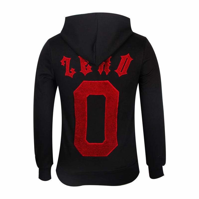 fleece hoodie for men high quality custom logo