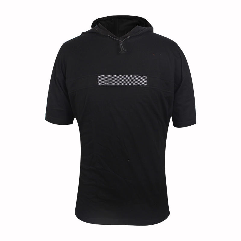 short sleeve hoodie free sample Custom