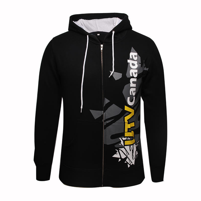 zipper hoodie sweatshirt printing logo in china