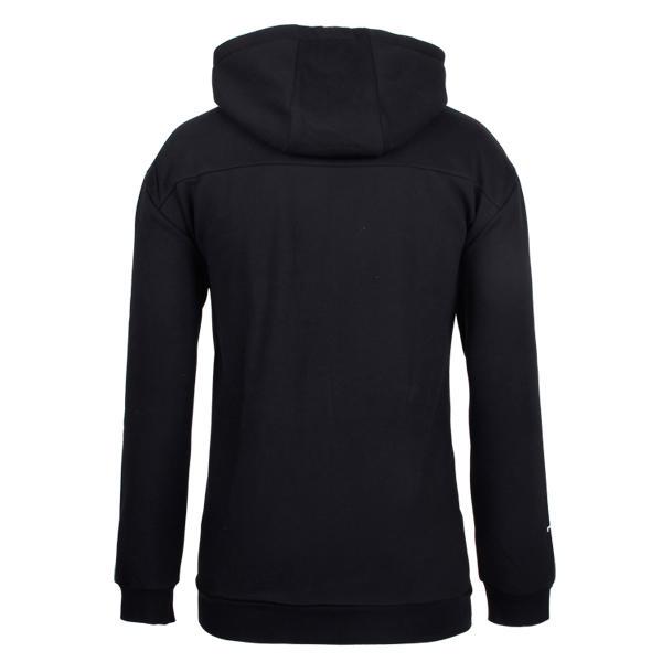 black zip up hoodie mens custom in china