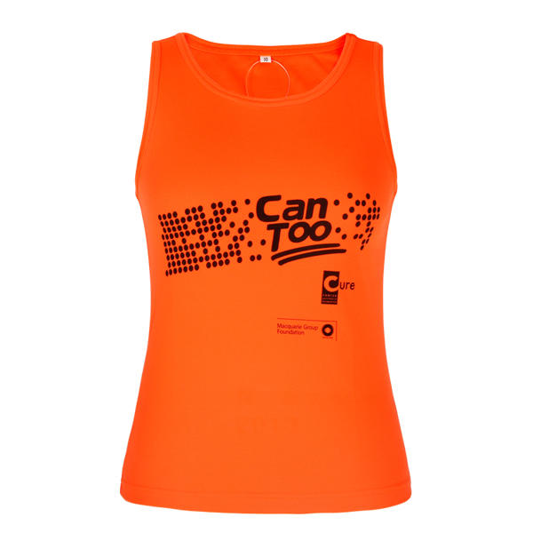 orange tank top oem in china