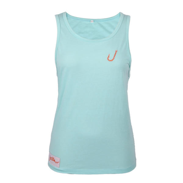 girls in tank tops 100% cotton embroidery
