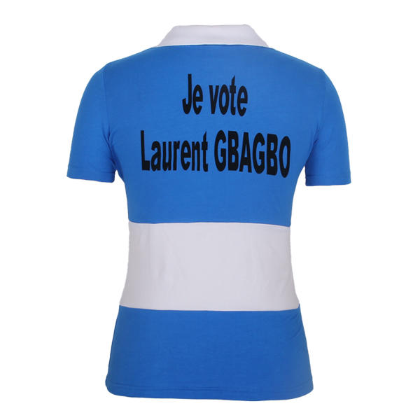 election polo ladies 2000 Coate d'Ivoire laurent gbagbo