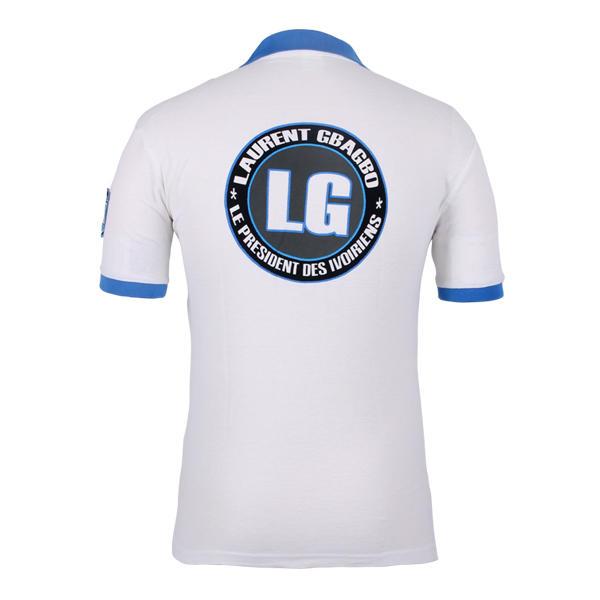 election polo shirt printing laurent gbagbo 2000