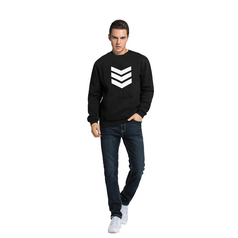 Custom sweatshirt printing logo for men