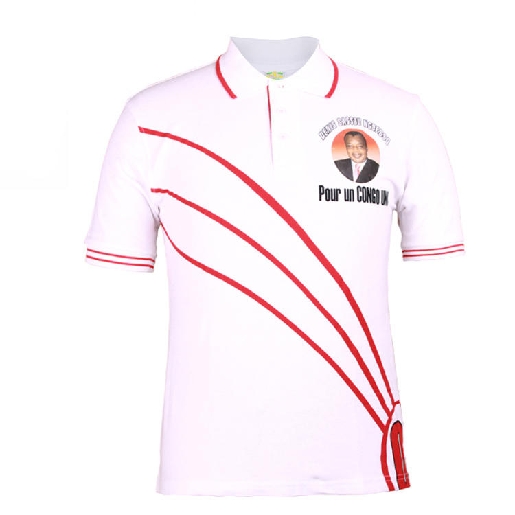 campaign polo shirt 2002 denis sassou nguesso election