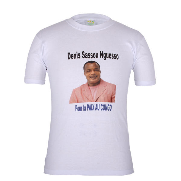 campaign t shirt for sale Denis Sassou Nguesso