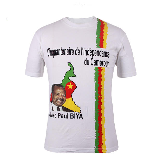 popular vote t shirt in china custom