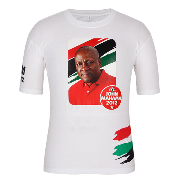 t shirt design campaign with John Dramani Mahama
