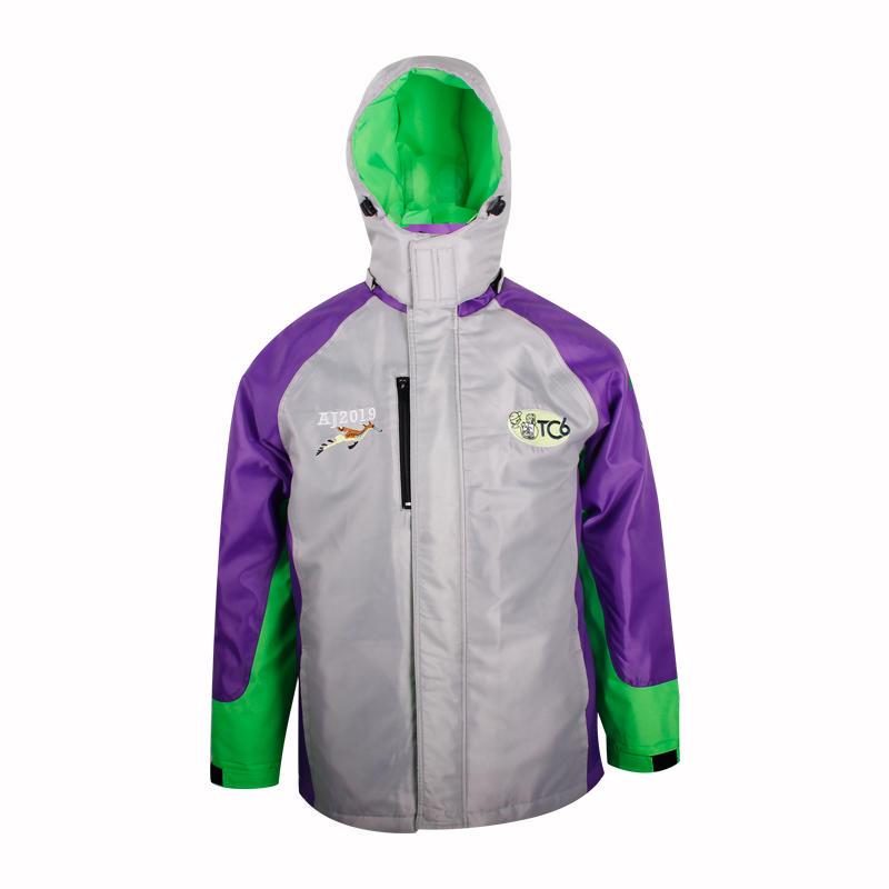 mens windbreaker jacket Hooded nylon