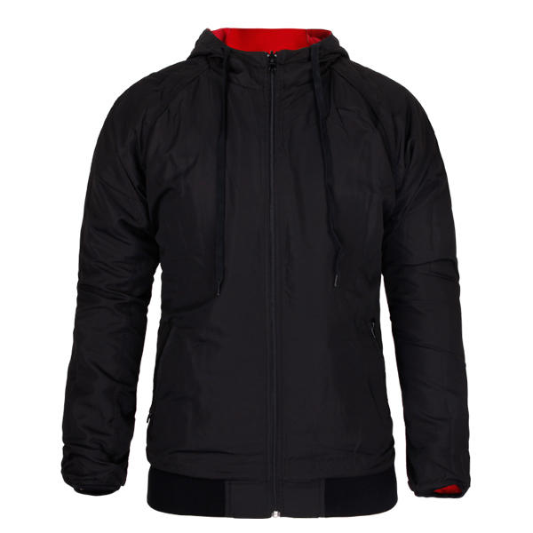 black windbreaker Full Zippe mens Customized
