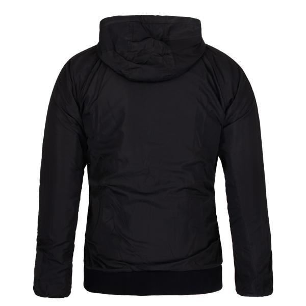 black windbreaker Full Zippe mens Customized