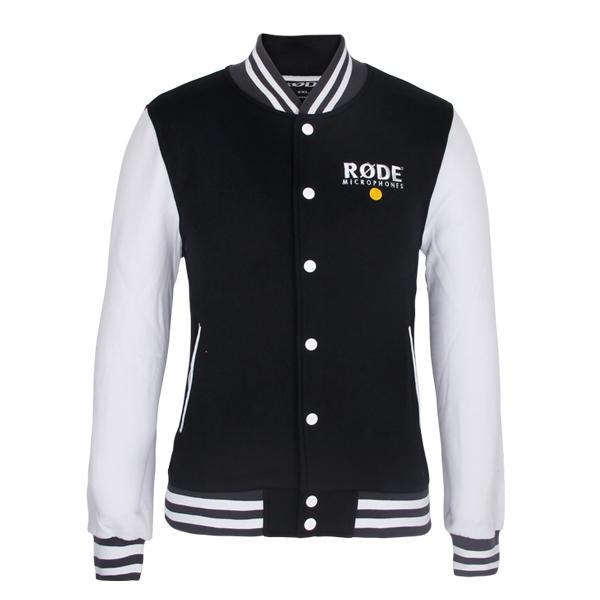 letterman jacket Men cotton button up baseball coat