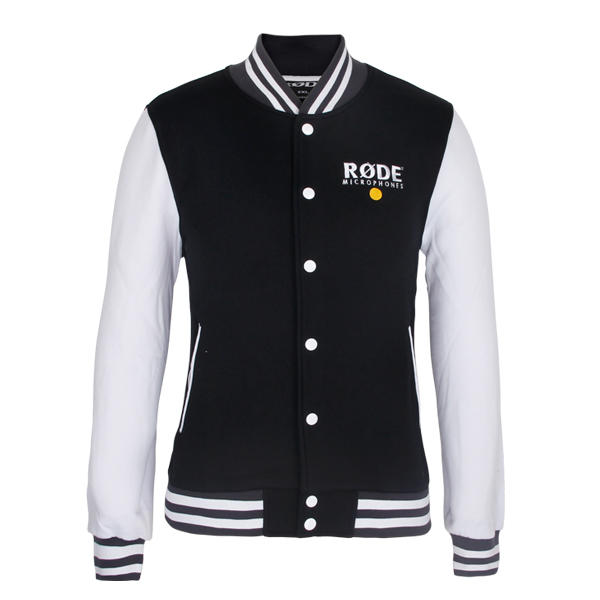 letterman jacket Men cotton button up baseball coat