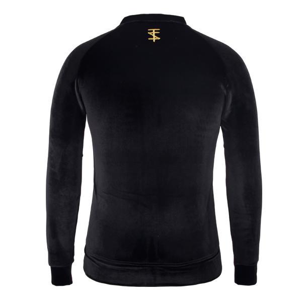 black jacket high-quality fashion pleuche