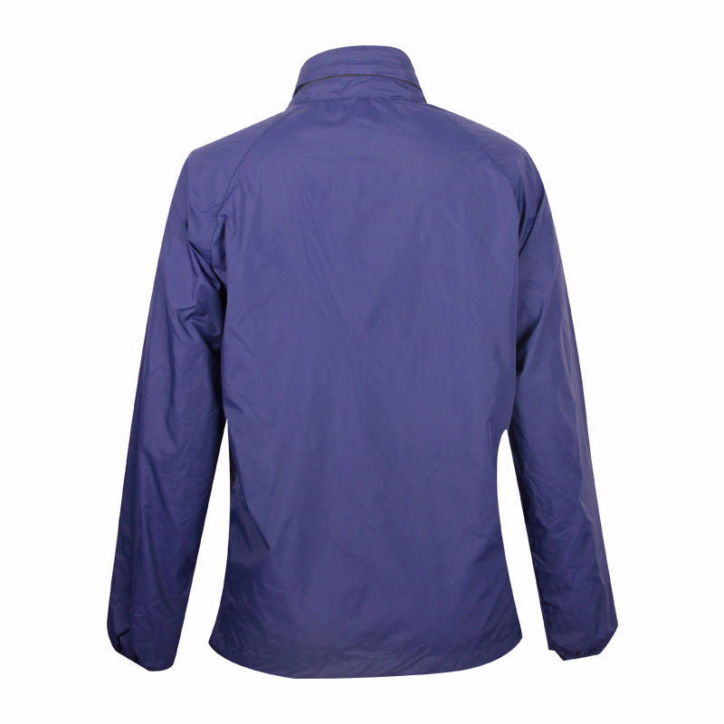 blue windbreaker ladies printing logo